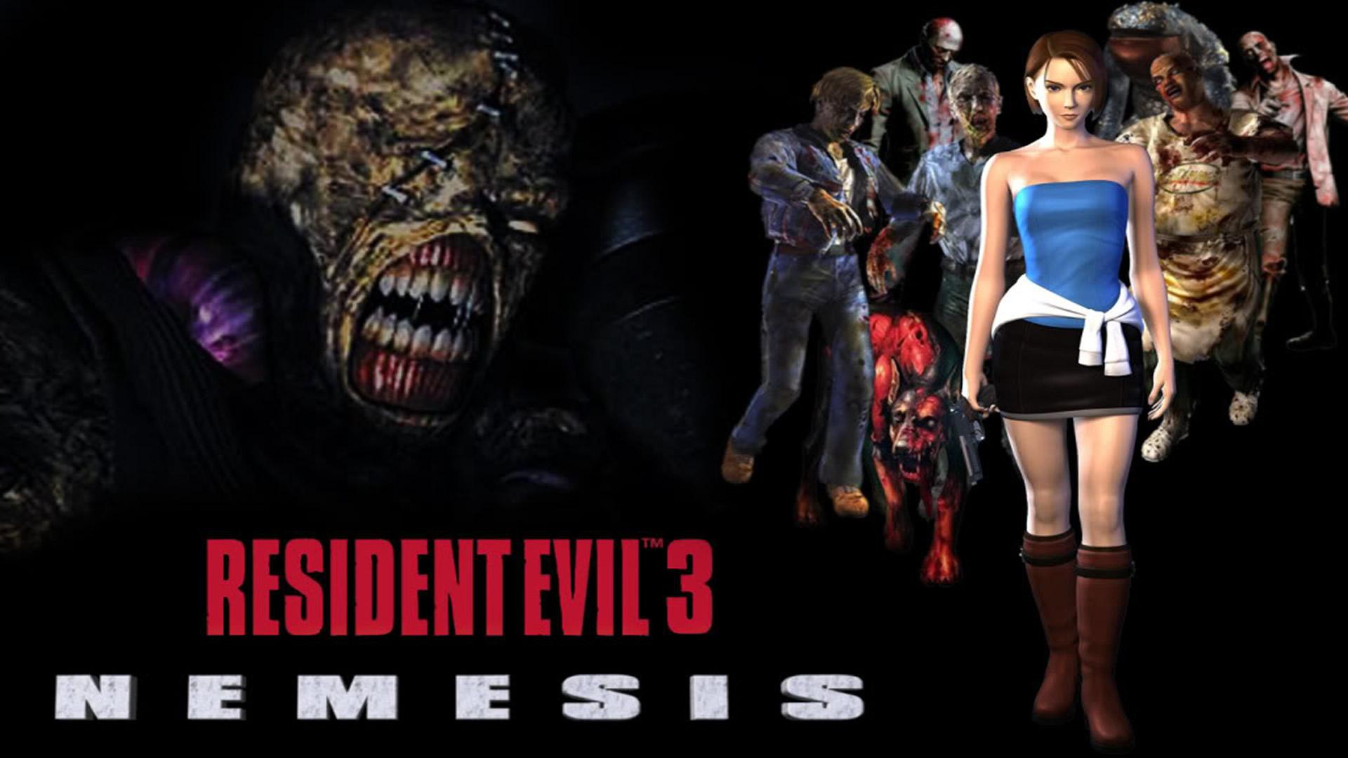 Resident Evil 3: Nemesis - MuralGamer