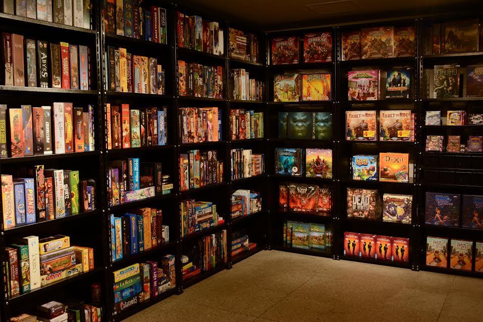 Coleção de jogos de tabuleiro (ou board games).